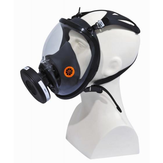 Masque complet respiratoire en silicone DELTA PLUS STRAP GALAXY- M9300NO