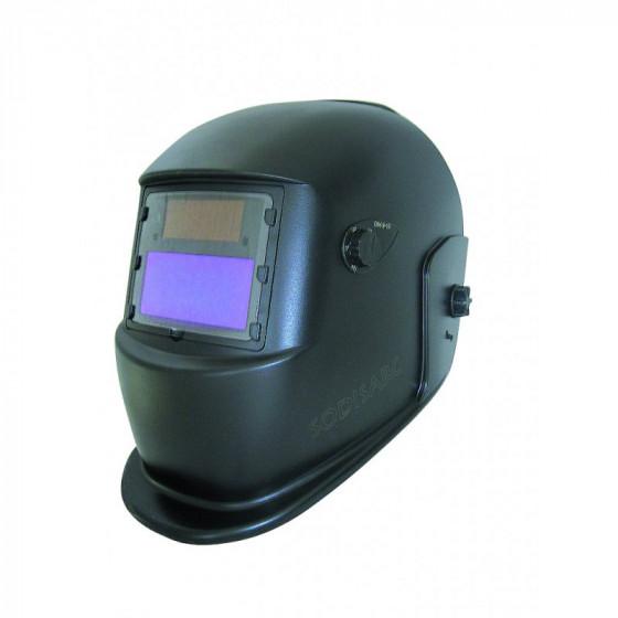 Masque de soudage meulage 2 en 1 électro optique noir réglable teinte variable de 9-13 -05754