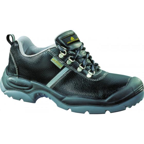 Chaussures Basses Cuir Pleine Fleur Noir Delta Plus-D Spirit S3 - Dspirs3no0 WBcbK