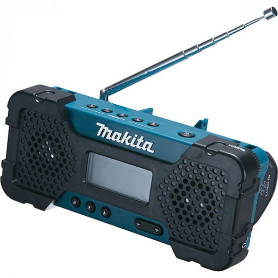 MAKITA-Radio de chantier à batterie Li-Ion 10,8 V 1,3 Ah machine seule-MR051