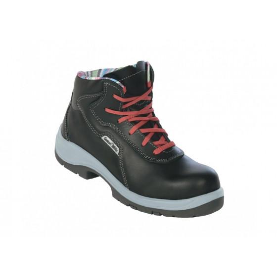 Chaussure de sécurité haute GASTON MILLE New Lady Brodequin Rose SRC ESD-NFHR3 DGTV1Cv