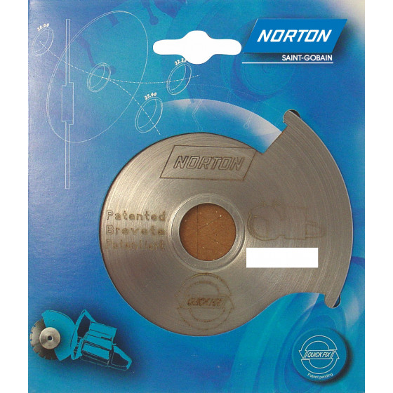 Disque diamant NORTON Quick Fix  Multi Usage Alésage 25.4 - 70184623894