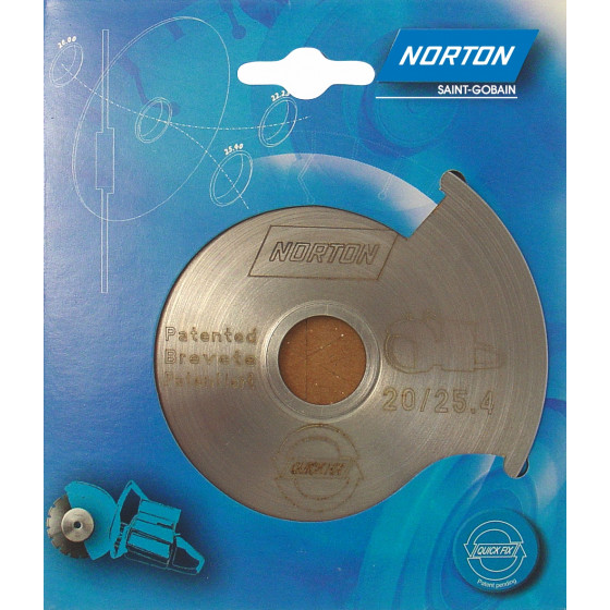 Disque diamant NORTON Quick Fix  Multi Usage Alésage 25.4 / 22.23 - 70184622589