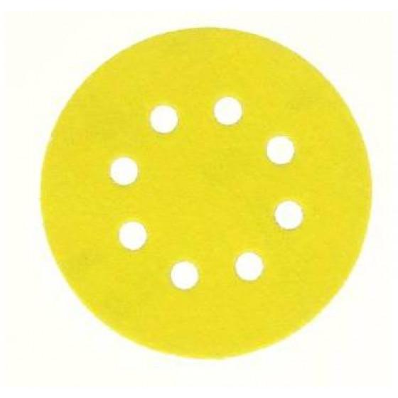 10 disques abrasifs Ø 125 mm NORTON 8 trous auto-agrippants Grain 120 - 66623379800