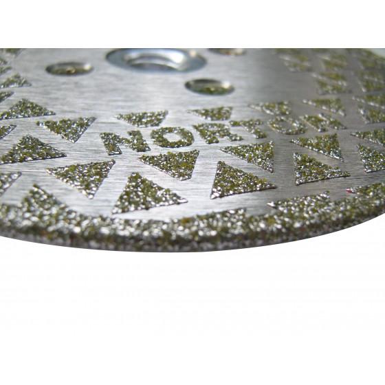 Disque diamant NORTON PRO SURF  Ø 230 mm Alésage 70/22.23 + Flasque - 70184640592