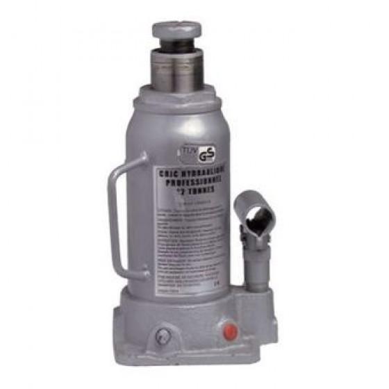 Cric bouteilles Hydraulique 15T -CE-Gris -13015