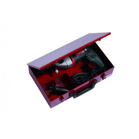 Coffret pour électro-portatif PREMIUM PRO - PREMIUM METAL 390x240x96 RUBI - P400