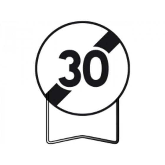 Lunettes 50 ans Panneau de limitation de vitesse