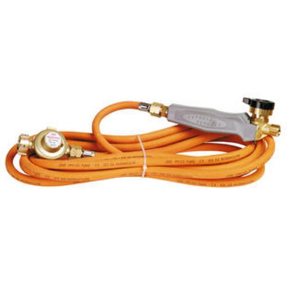 Set pour couvreur : manche à raccord + 4m75 de tuyau + détendeur - 6025