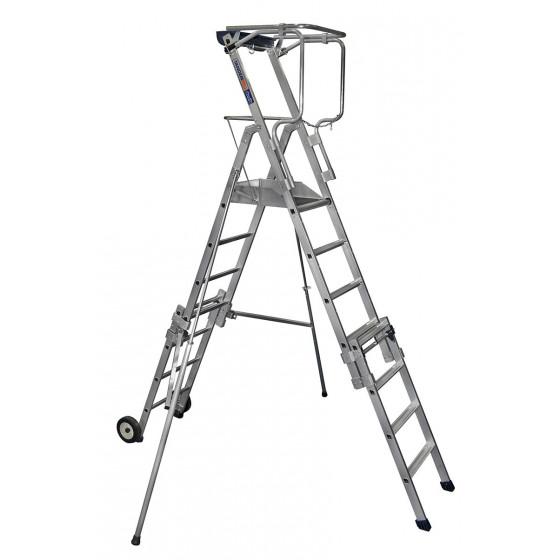 Plates-formes individuelles roulantes (PIR/PIRL) Télescopique 4 à 7 marches DUARIB- Tandempro XT7-18247