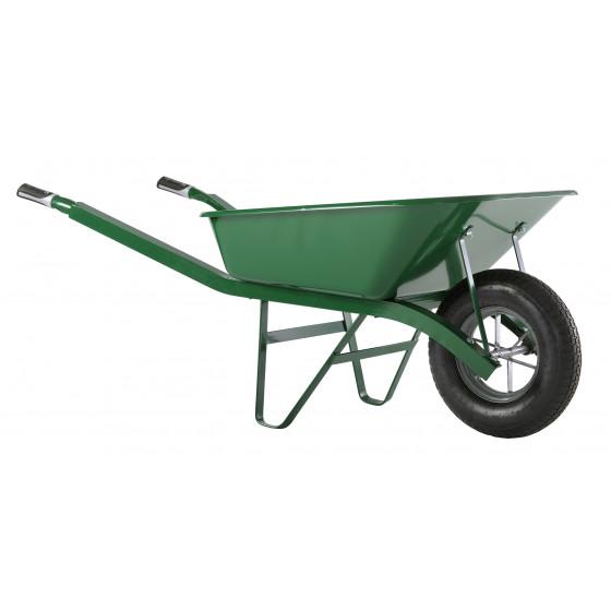 Brouette Haemmerlin Pro Select Bati Plus 100L Peinte Verte Roue Gonflée -302334106
