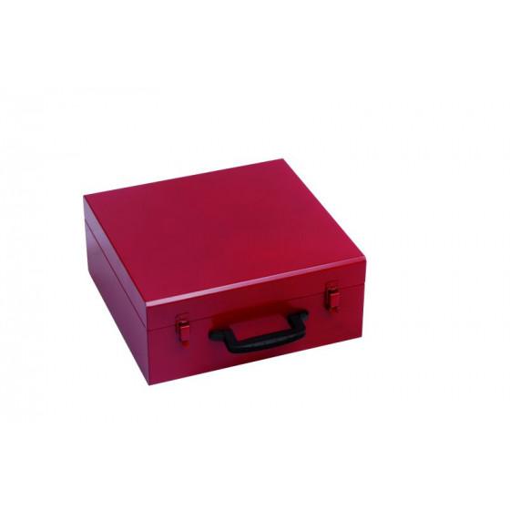 Coffret simple PREMIUM PRO - PREMIUM METAL RUBI 380x370x165- PROTECT