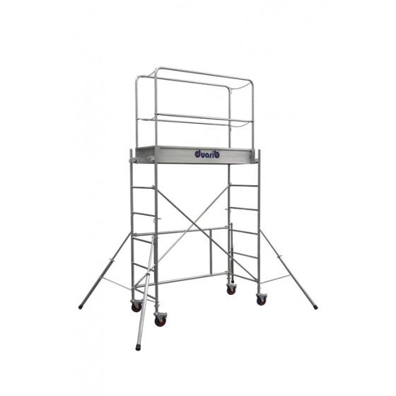 Echafaudages roulants DUARIB Acier Rolly 2  / hauteur plancher  0m90 (NORME ERPFH)- 12.532