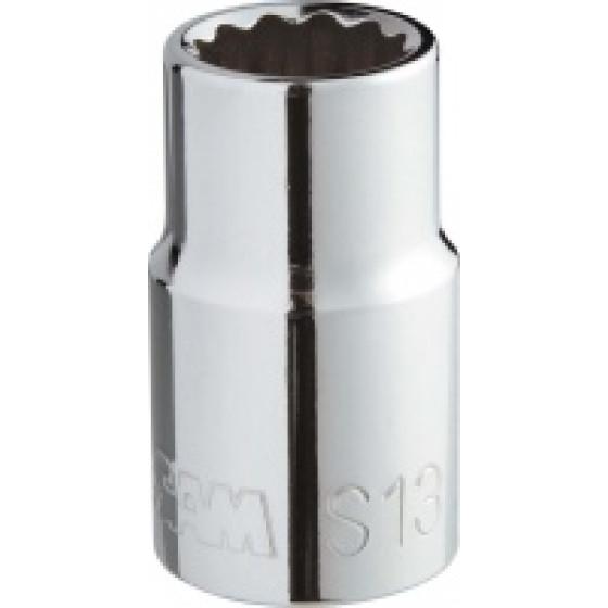 SAM OUTILLAGE-DOUILLE 1/2 12 PANS 15 MM- S-15