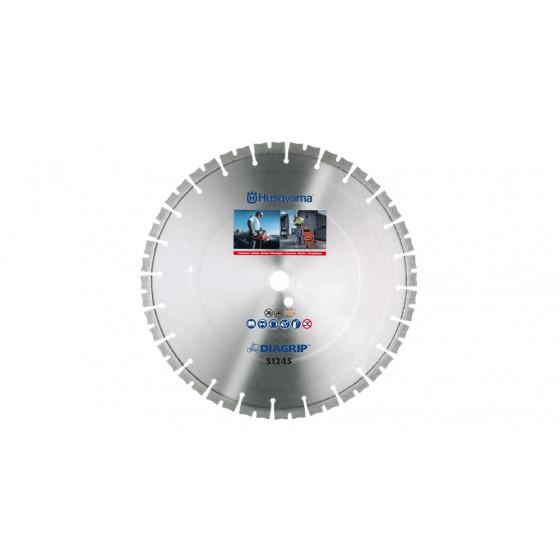 DISQUE DIAMANT BETON ARME,GRANIT S 1435 Diagrip Ø 350 AL 25,4/20 HUSQVARNA-583890401