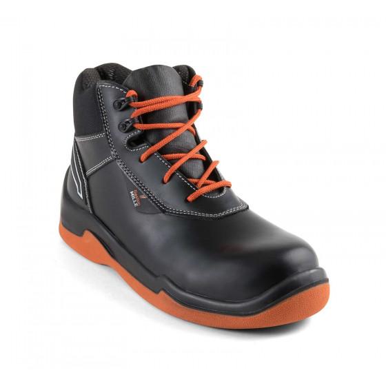Chaussure de sécurité haute spécial asphalte GASTON MILLE Tarmil SB P WRU  HI HRO - RNNG3 ce14a6ee1cde