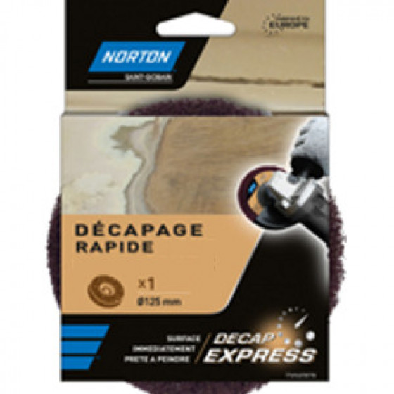 Décap Express poncage machine NORTON pour meuleuse Ø 125 mm - 63642550857