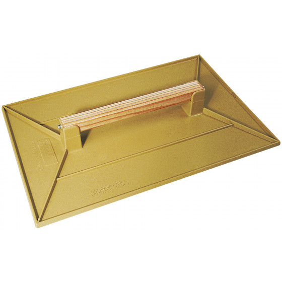 TALOCHE ABS 42x28CM RECTANGLE JAUNE SOFOP TALIAPLAST-300101