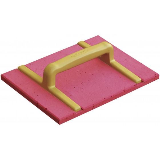SOFOP TALIAPLAST - Taloche polyuréthane rectangulaire rouge 42 * 28 CM - 300801