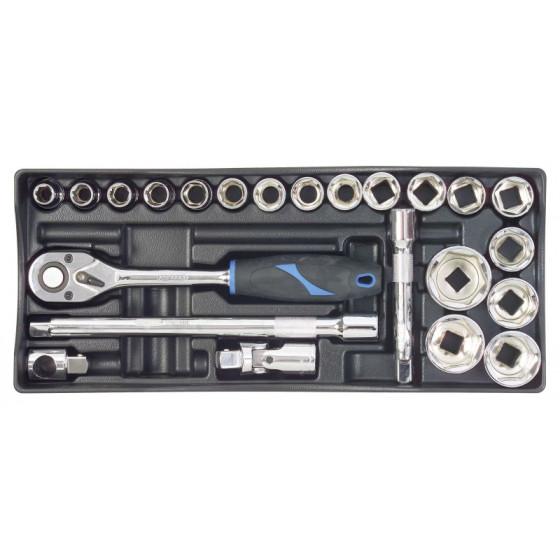 Module thermoformé pour composition de douilles et accessoires 1/2'' SORI (vendu sans outillage ) -SOM006
