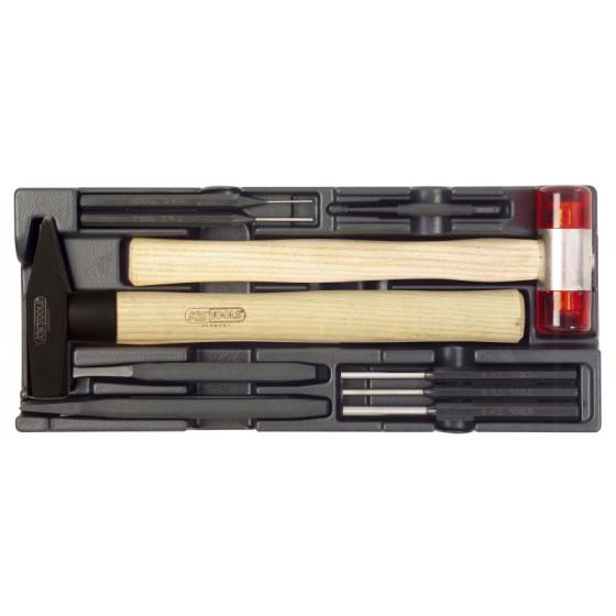 Module thermoformé pour marteau et chasse goupilles SORI (vendu sans outillage ) -SOM008