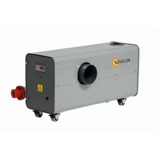 SOVELOR -Chauffage air pulsé électrique mobile gainable très hautes températures-ETV22