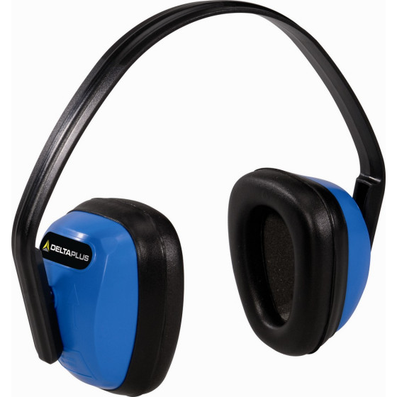 CASQUE ANTIBRUIT DELTA PLUS- SNR 28 dB-SPA3BL