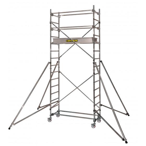 CENTAURE - Echafaudage aluminium roulant STI 3, plancher jusqu'à 2m80 - 414803
