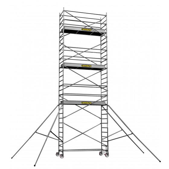 CENTAURE - Echafaudage aluminium roulant STL 8, plancher jusqu'à 7m90 - 414828
