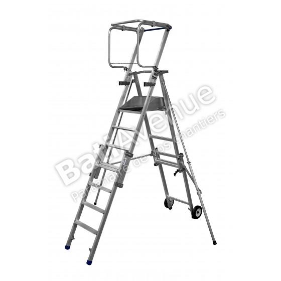 Duarib- Plates-formes individuelles roulantes (PIR/PIRL) 4 hauteur de travail jusqu'à 3,65 m-Tandem 7 pliant-18.176