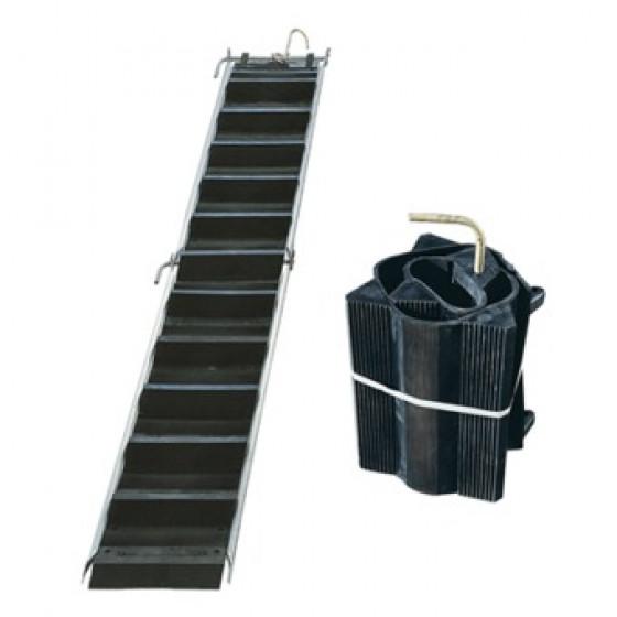 Echelle ou escalier de toit  souple souplechelle SOFOP TALIASPLAST elément de 1,60m x 0,40m - 320501