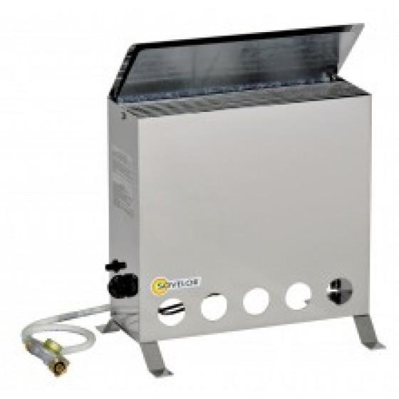 Sovelor - Convecteur thermostatique mobile au gaz 4000W -THERMIP