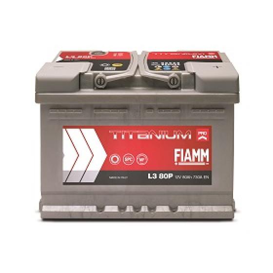 FIAMM L3 80P Batterie Voiture de collection Batteries
