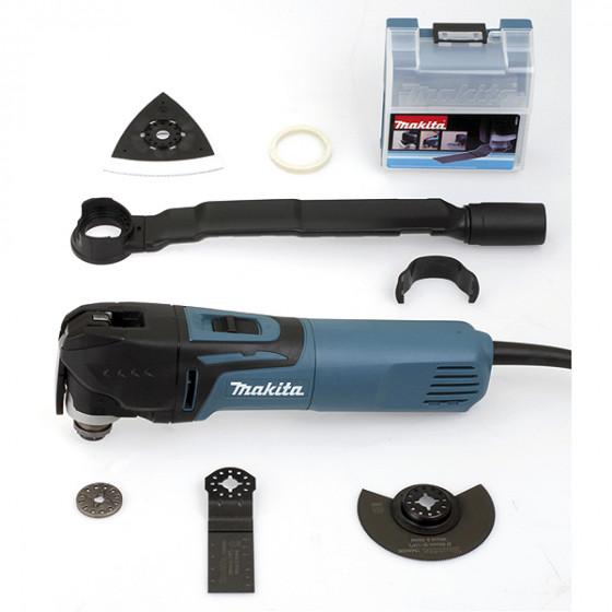 Découpeur-ponceur multifonctions 320 W + kit d'accessoires MAKITA- TM3010CX6