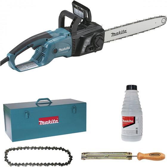 Tronçonneuse 2000 W 40 cm MAKITA + kit d'accessoires-UC4051AK