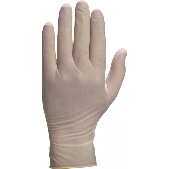 DELTA PLUS-BTE 100 GANTS JETABLES LATEX VENITACTYL 1310-V13100