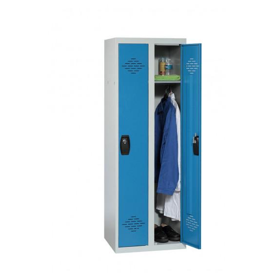Vestiaire industrie propre 2 cases 1800X600X500 ARMAPRO SORI -VIP2PP