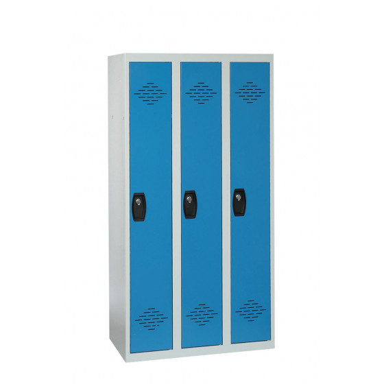 Vestiaire industrie propre 3 cases 1800X900X500 ARMAPRO SORI -VIP3PP