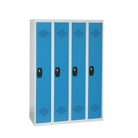 Vestiaire industrie propre 4 cases 1800X1200X500 ARMAPRO SORI -VIP4PP