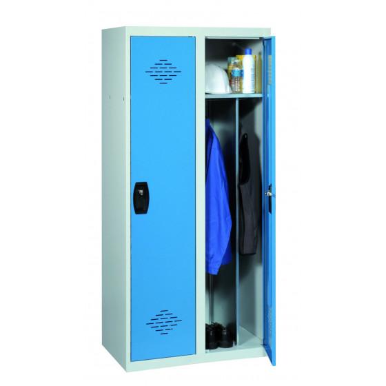 Vestiaire industrie salissante 2 cases 1800X800X500 ARMAPRO SORI -VIS2PP