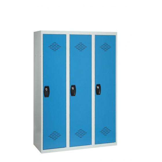 Vestiaire industrie salissante 3 cases 1800X1200X500 ARMAPRO SORI -VIS3PP