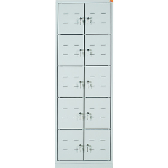 Vestiaire monobloc multicase Dim 1800x600x490 ARMAPRO SORI -VMC10