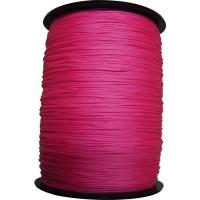 CORDERIE MESNARD- Drisse rose fluo polypropylène Ø 1.5 mm , longueur 1000 métres- DRSTD015B1000FR