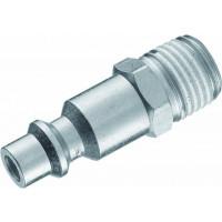 LOT 10X01402 EMBOUTS RAPIDES ACIER M1/4 DIAM.6MM-SODISE-01402.10