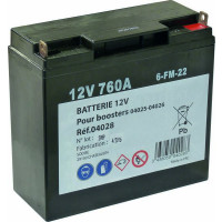 BATTERIE P/ BOOSTER 04025-04026 SODISE -04028