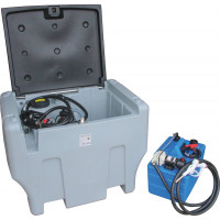Cuve de ravitaillement mixte DRAKKAR 12V 400/50L fuel/AdBlue 40/17 - 08039