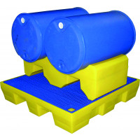 SUPPORT GERBABLE 2 FUTS 200L 124X58X38CM SODISE-08253