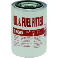 CARTOUCHE FILTRE GASOIL 60L/mn  (+rechange P/08509)-SODISE-08417