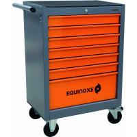 SERVANTE 7 TIROIRS EQUINOXE 09248 + 4 TIROIRS OUTILS MODULES PLASTIQUES SODISE-25042