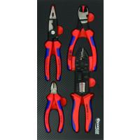 MODULE MOUSSE FINITION CARBONE 4 PINCES KNIPEX SODISE-09892